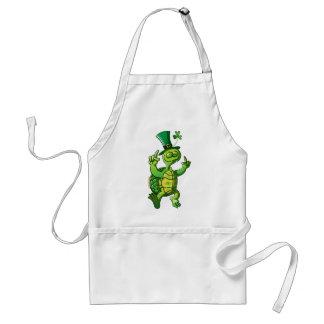 Saint Patrick s Day Turtle Apron