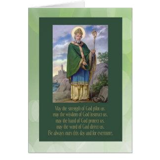 Saint Patrick Vintage card