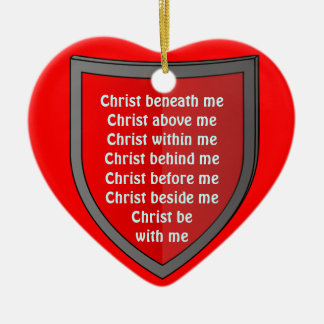 Saint Patrick's breastplate prayer ornament