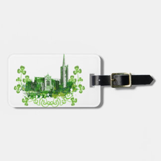 Saint Patrick's Cathedral in Dublin Luggage Tag
