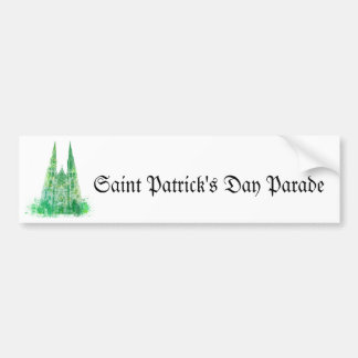 Saint Patrick's Cathedral New York Bumper Stickers