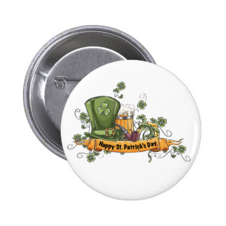Saint Patrick's Day 6 Cm Round Badge