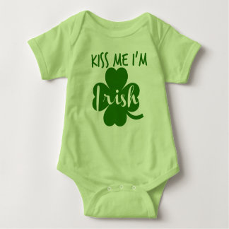 Saint Patrick's Day Baby Bodysuit