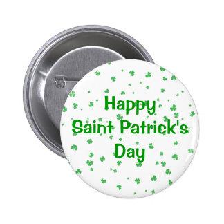 Saint Patrick's Day 6 Cm Round Badge