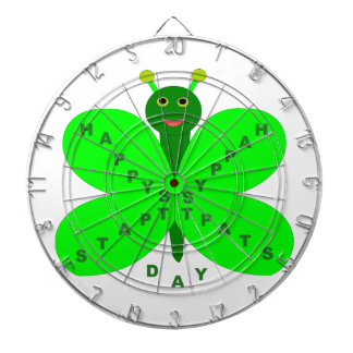 Saint Patricks Day Butterfly Dart Board