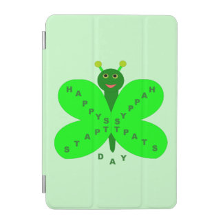 Saint Patrick's Day Butterfly iPad Mini Cover