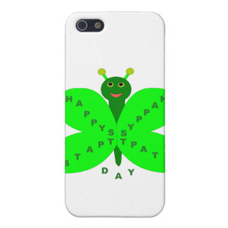 Saint Patricks Day Butterfly  iPhone 5/5S Cases