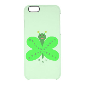 Saint Patrick's Day Butterfly iPhone Case