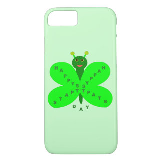 Saint Patricks Day Butterfly iPhone Case