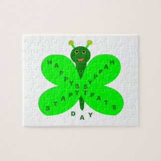 Saint Patricks Day Butterfly Puzzle