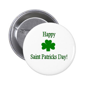 Saint Patricks Day Button