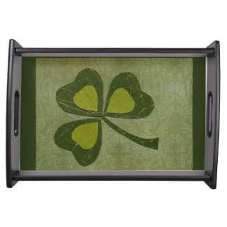Saint Patrick's Day collage # 29 Serving Tray