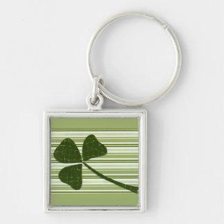 Saint Patrick's Day collage series # 5 Key Chain
