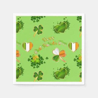 Saint Patrick's Day Disposable Napkins