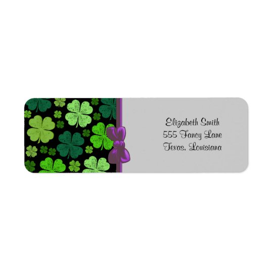 Saint Patrick's Day, Four Leafed Clovers - Green