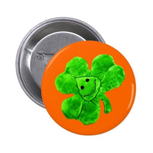 Saint Patrick's Day Funny Irish Shamrock Button