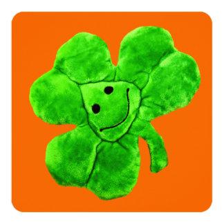 Saint Patrick's Day Funny Irish Shamrock Card