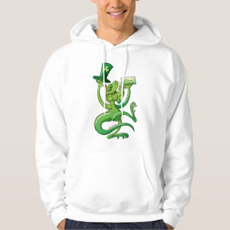 Saint Patrick's Day Iguana Hoodie