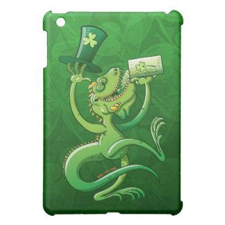 Saint Patrick's Day Iguana iPad Mini Cover
