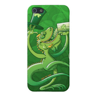 Saint Patrick's Day Iguana iPhone 5 Cases