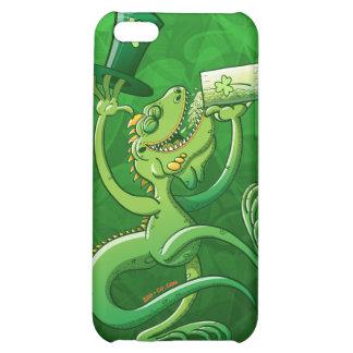 Saint Patrick's Day Iguana iPhone 5C Cases