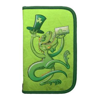 Saint Patrick's Day Iguana Folio Planners