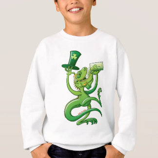 Saint Patrick's Day Iguana Sweatshirt