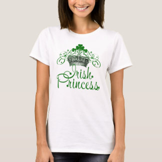Saint Patrick's Day Irish Princess T-Shirt