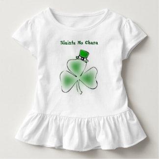 Saint Patrick's Day Kids Ruffled Tee-shirt Toddler T-Shirt