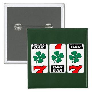 Saint Patrick's Day - Luck Of the Irish 15 Cm Square Badge