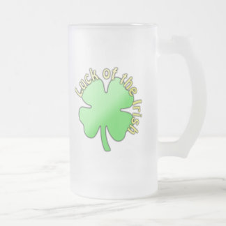"Saint Patricks Day, ""Luck of The Irish"" Coffee Mugs"