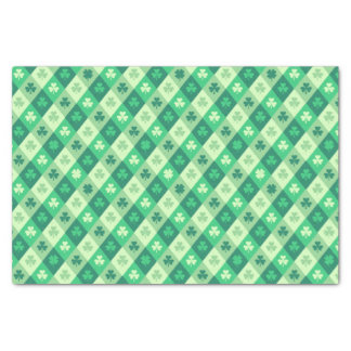 Saint Patrick's Day Lucky Green Shamrock Clover Tissue Paper