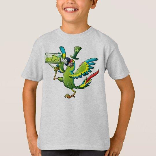 Saint Patrick's Day Macaw T-Shirt