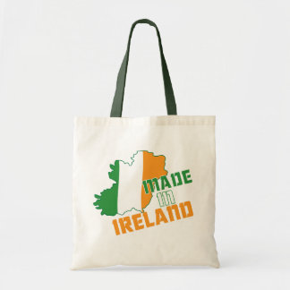 Saint Patrick's Day Made in Ireland T-Shirt Tote Bag