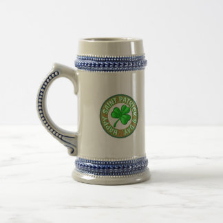 Saint Patricks Day Mug. Beer Stein