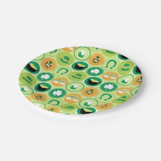 Saint Patrick's Day Paper Plate
