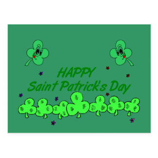 Saint Patrick's day - Postcard