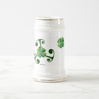 Saint Patrick's Day -Triskele *Lá Fhélie Pádraig Beer Stein