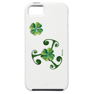 Saint Patrick's Day -Triskele ^Lá Fhélie Pádraig iPhone 5 Cases