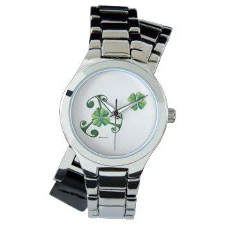 Saint Patrick's Day & Triskele *Lá Fhélie Pádraig Wristwatches