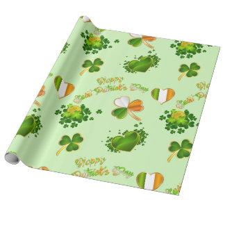 Saint Patrick's Day Wrapping Paper