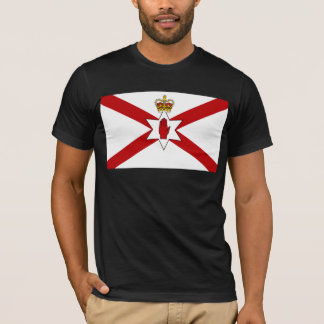 Saint Patrick'S For Northern Ireland Crowned flag T-Shirt
