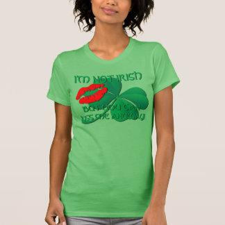 Saint Patricks Shamrock Kiss Shirts