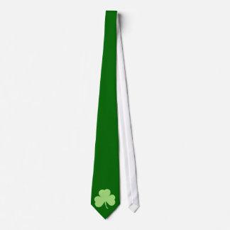Saint Pattys Day Shamrock Tie