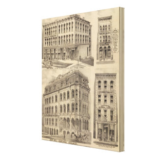 Saint Paul Business College, Minnesota Canvas Print
