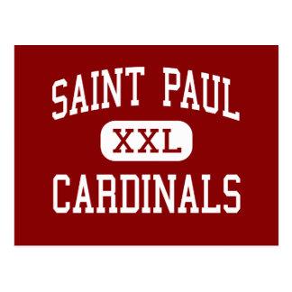 Saint Paul - Cardinals - High - Shiner Texas Postcard