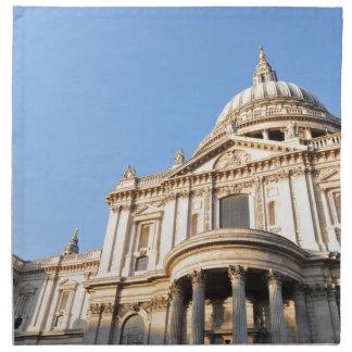 Saint Paul cathedral in London, UK Napkin