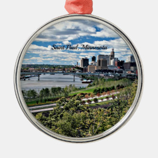 Saint Paul, Minnesota Landscape Christmas Ornament