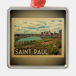 Saint Paul Minnesota Ornament Vintage Travel St