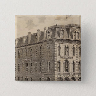 Saint Paul Press Company 15 Cm Square Badge
